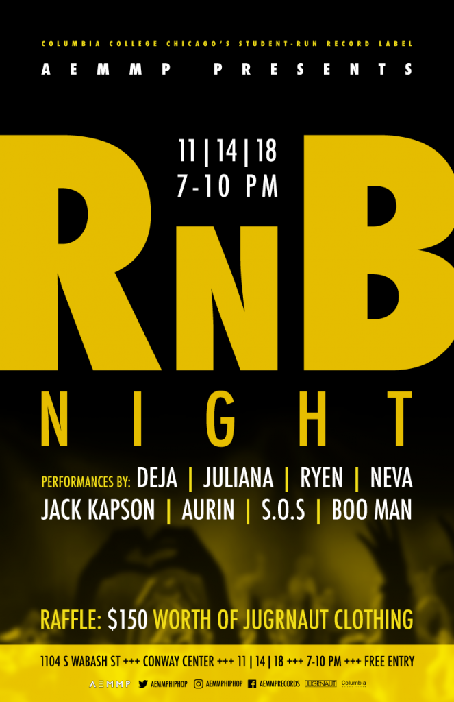 AEMMP PRESENTS R&B NIGHT – 2018